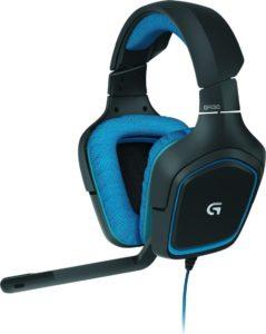 Logitech G430 Gaming Kopfhörer (Dolby 7.1 Surround Sound für PC)
